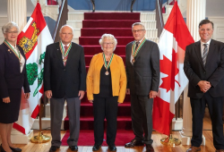 Order of PEI recipients at 走vernment House